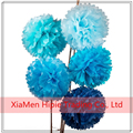 "8"" Wedding Decoration Pom poms Party Tissue Paper Hanging Flower Balls"