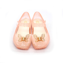 2017 hot sale fashion small order mini melissa shoes kidz on sale Butterfly jelly shoes