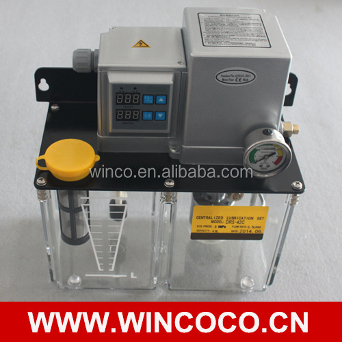 New Type DR Central Lubrication Oil Pump With Pressure Switch