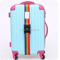 RAINBOW COLOR STRAPS BRAND NEW,Luggage Tag Buckle Strap With Plastic Buckle For Suitcase