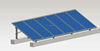 Hot sale!! cheap price flat style pitch tin style title style roof solar panel mounting
