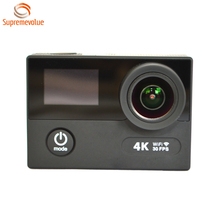 Ultra HD 4K 30FPS Ambarella A12 Wifi EIS Sports Action Camera With 2.4G RF Remote Control Factory Direct Offer