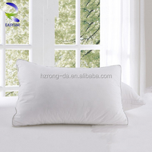 New Style Factory Directly Provide Soft Pillow 100% Cotton Washed White Down and Feather Pillow