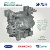 Carrier Carlyle 5H40 5H46 Marine Refrigeration Open-Drive Compressor