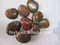 landscaping red pebble stone import