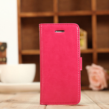 Newest creative design flip leather phone cover for iPhone 5C