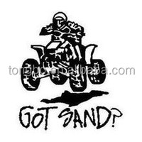 2015 Custom Black Printed Vinyl Sticker Design For Motorcycle