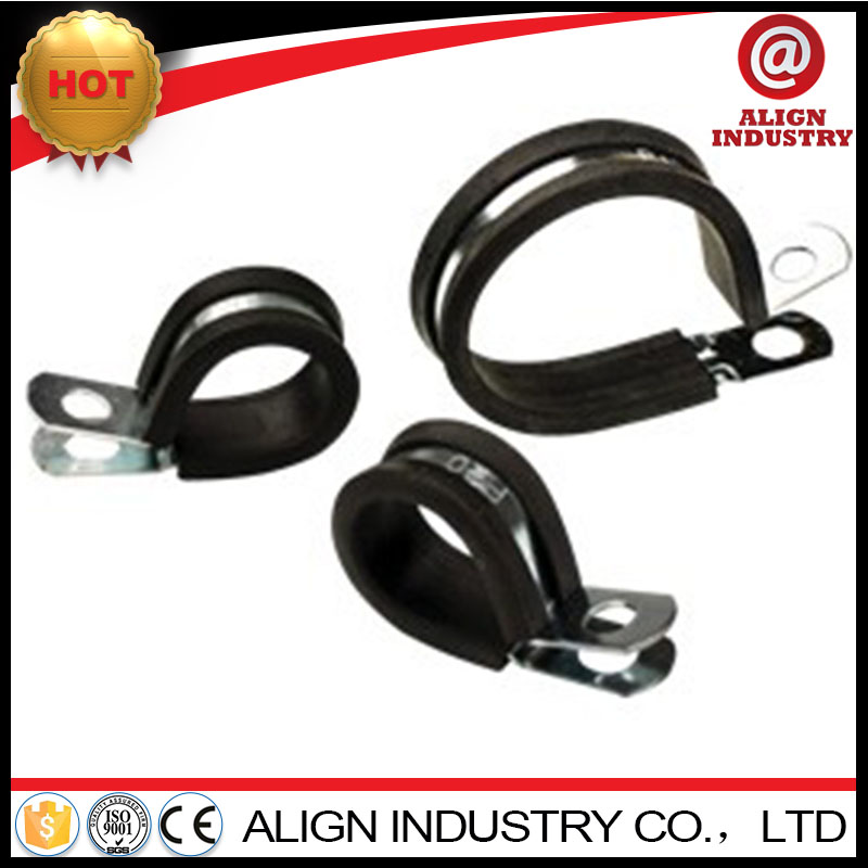 aluminum cable clips galvanized iron hose clamp electrical clamp with rubber