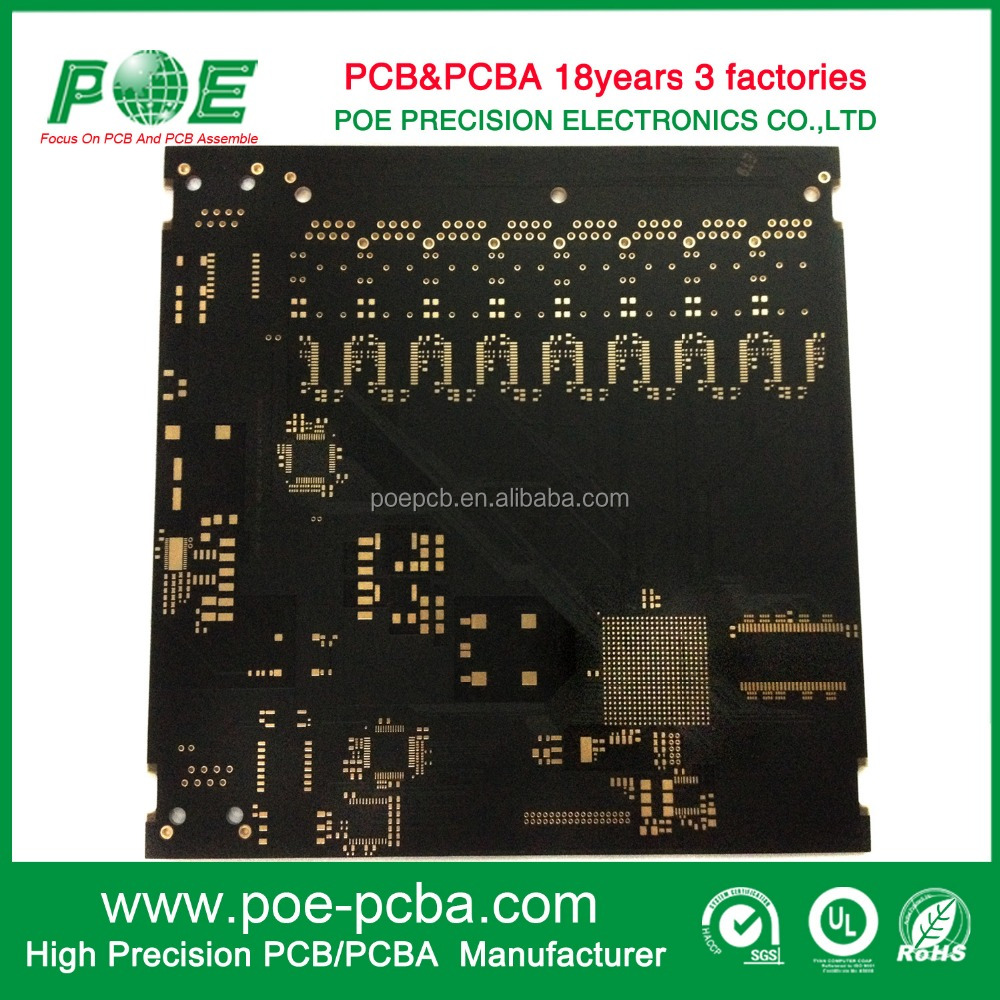 Multilayer Copper Plugging Vias PCB in Shenzhen