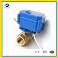 dn10 24V 2 way brass cwx15q motorized ball valve for chilled water