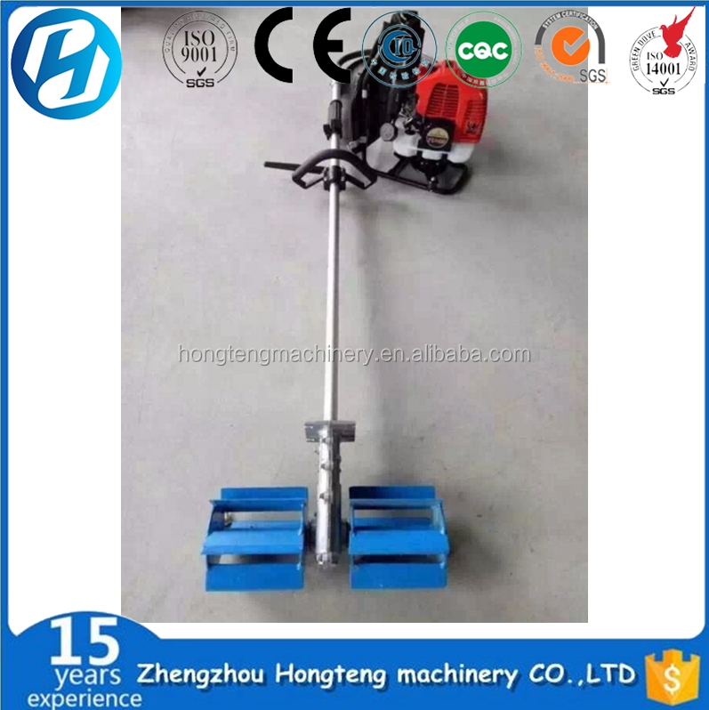 Convenient and Compact Structure power weeder for sugarcane
