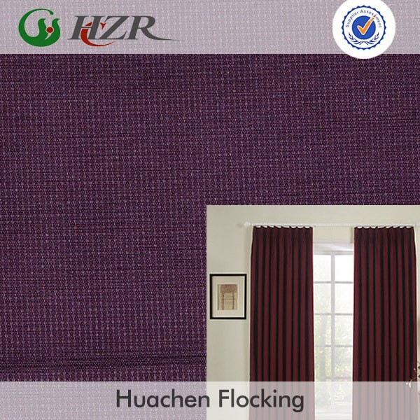 energy saving plain linen coated blackout curtain fabric for curtains