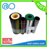 Hot Sell Compatible ribbon DIC10201 YMCKT_500 ribbon for DCP240/340 card printer