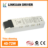 SAA Certificates 220V input Voltage Constant Current 1700MA dimmable 70w led driver