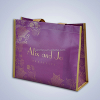 Alibaba China suppliers reusable pp laminated non woven shopping bag