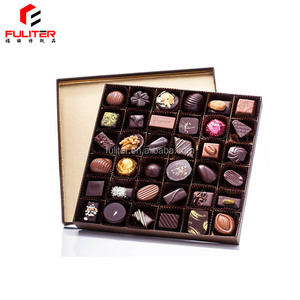 New Products The Best Price Good Design High Quality Eco Friendly Disposable Chocolate Kraft Paper Box
