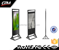 "42"" lcd advertising player indoor video led touch screen display usb sd cf network monitor google android 4.4 tv"