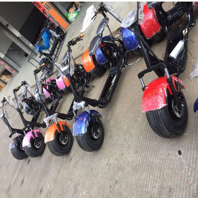 2017 citycoco 3 wheels 200km off road 125cc eec trike scooter with CE