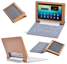 Leather Flip Case Cover For Lenovo Yoga 10, Leather Case For Lenovo Yoga Tablet 10