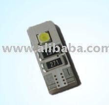auto led bulb T10 2smd with canbus