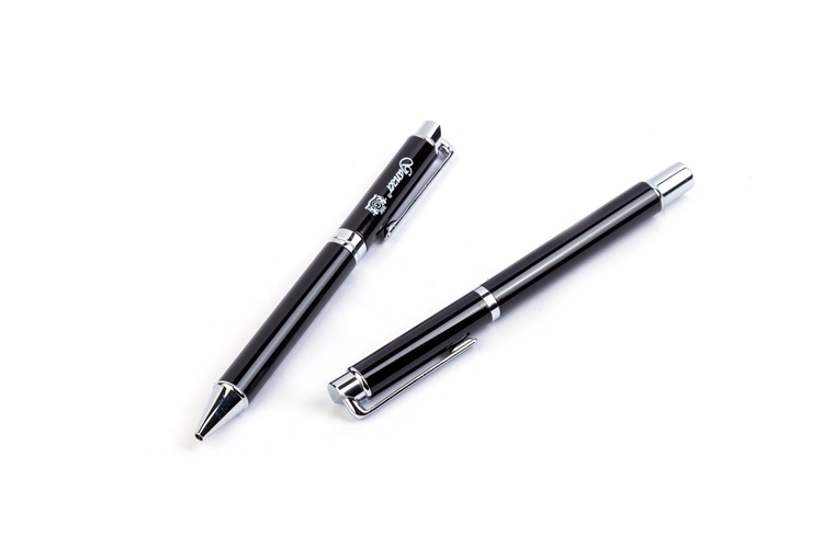 Hight Quality Products Business Gift Bulk Black Luxury Metal Ballpoint Pen China