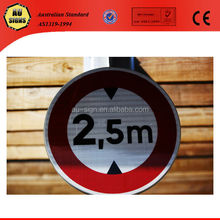 Warning aluminum reflective traffic road signal manufacturer