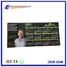 2017 monthly calendar fridge magnet in Australia for real estate