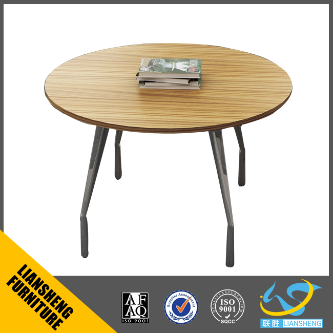 Conference table office furniture wooden small round meeting table