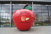 Hot sale giant inflatable apple,inflatable pear,inflatable advertising fruit