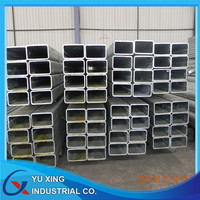 Weight of gi square steel pipe used for structural material from Tianjin factory