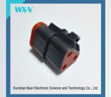 Free Samples 3 holes Automotive Electrical Female Connector DT06-3S-E004