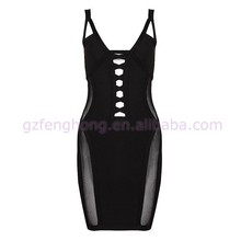 popular fashion dress sexy party designer one piece party dress