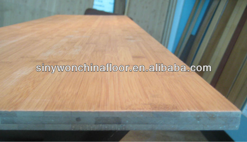 Carbonized Vertical Bamboo Panel Of Tabletops