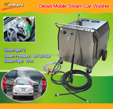 30bar mobile steam car wash/vapor car wash equipment systems