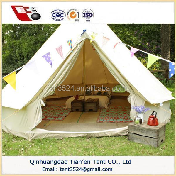 2015 best-selling Outdoor camping bell tent 2015
