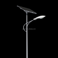 High efficiency best design solar led street light solar light with solar panel