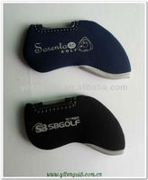Waterproof high quality neoprene unique golf head covers