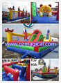 inflatable playground inflatable slide combo inflatable bouncer