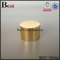 gold aluminium bottle cap cosmetic screw cap for glass bottle free sample alibaba china