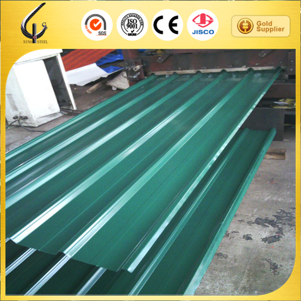 iso 9001 color coated galvanized corrugated metal roofing/corrugated steel sheet