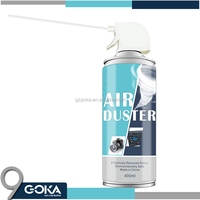 compressed gas duster / air duster spray can for clean computer,air duster cleaner