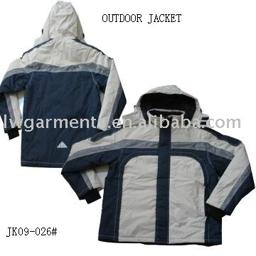 NEW DESIGN POLYESTER OUTDOOR JACKET FOR MENS