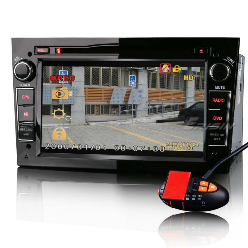 erisin es7681p 7 opel zafira astra h 2 din autoradio dvd sistema di navigazione gps video. Black Bedroom Furniture Sets. Home Design Ideas