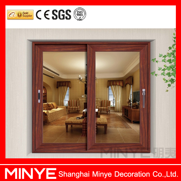 China factory powder coating thermal break aluminium lift and sliding door and window design for villa