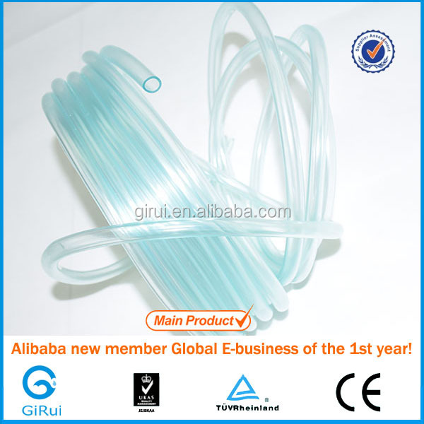 2mm soft transparent plastic tube clear single hose