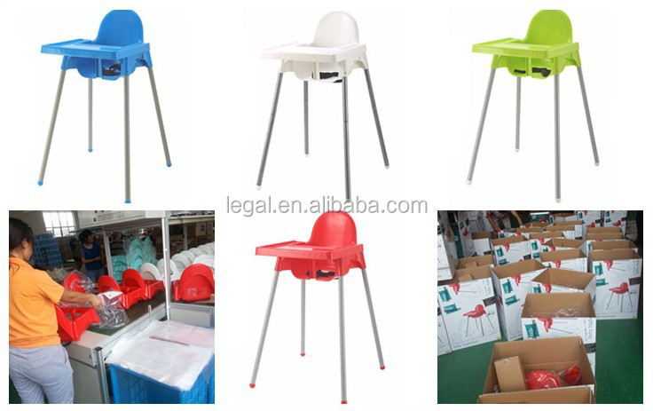 baby feeding chair, high quality with safety belt baby chairs