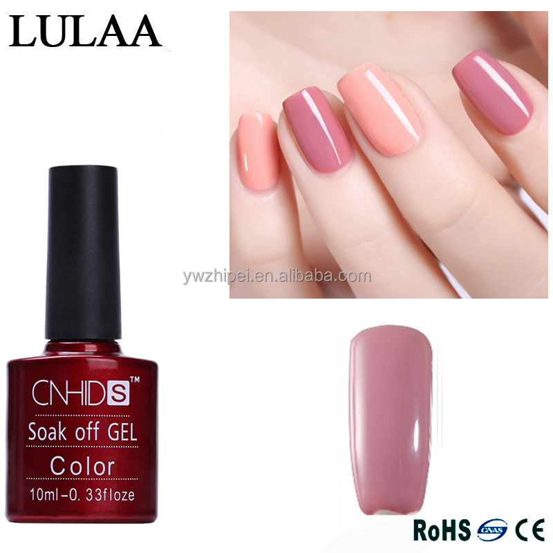 CNHIDS 132 Color UV Nail Gel Lacquer Nail Art French Salon UV Gel Nail Polish Soak Off Semi Permanent Led Nail Paint Varnish