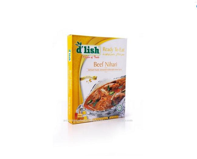 Hot Sale Beef Nihari Curry Pack