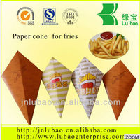 paper containers for potato chips and fried chicken
