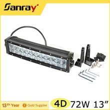 Car illuminator 72W Tractor Tow Truck Led Light Bar